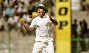 Mike Gatting drops a catch on the 1992-93 tour of India