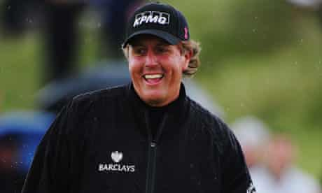 Phil Mickelson The Open