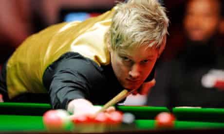 Neil Robertson, snooker player