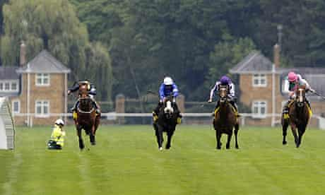 Nathaniel on the way to winning the King George at Ascot
