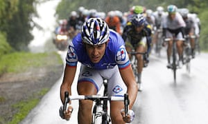 France s Jeremy Roy starts a breakaway in the filthy rain on stage four 7a42b1893