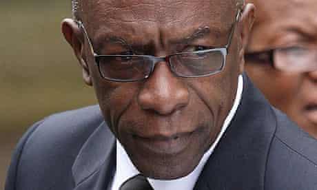 Jack Warner, the former Concacaf president