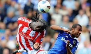 Stoke City. Chelsea.