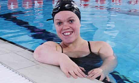 Paralympic swimming champion, Ellie Simmonds