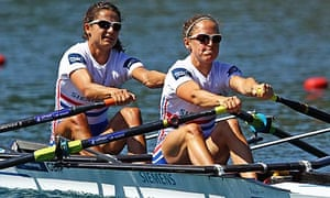 Hester Goodsell and Sophie Hosking FISA Rowing World Championships