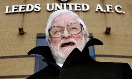 Leeds United's owner ken Bates