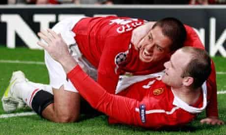 Wayne Rooney and Javier Hernandez, Wayne Rooney