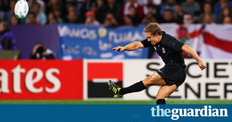 Rugby world cup 2011 jonny wilkinson bemused by kicking for Interieur sport wilkinson