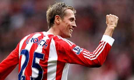 Peter Crouch of Stoke City