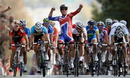 Mark Cavendish wins the world title