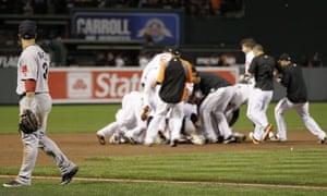 Boston Red Sox lose, Baltimore Orioles win