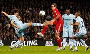 Manchester City concede a penalty