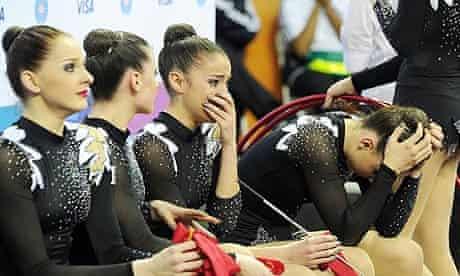 Team GB rhythmic gymnasts