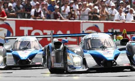 Peugeot Sport cars took first and second at the 2009 Le Mans 24-hour race