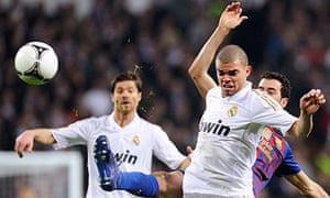 Real Madrid's Pepe