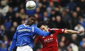 Rangers' Maurice Edu Aberdeen