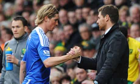 Fernando Torres and André Villas-Boas