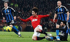 Park Ji-Sung of Manchester United