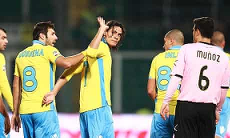Edinson Cavani scored against his old club