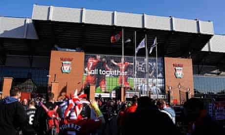 Anfield is set to undergo a redevelopment that will see the capacity of the stadium expand to 60,000