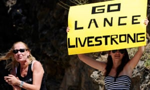 Livestrong, the Lance Armstrong charity