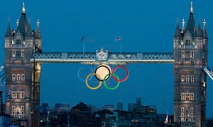Olympic Rings Tower Bridge