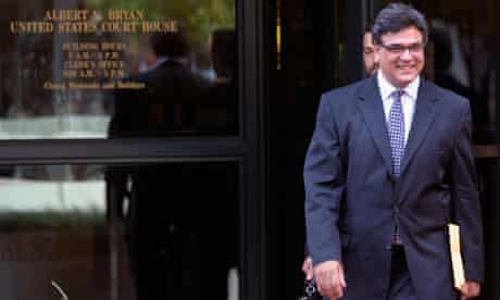 Former CIA officer John Kiriakou leaves US District Courthouse in Alexandria, Virginia