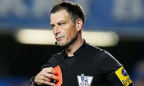 Premier League referee Mark Clattenburg