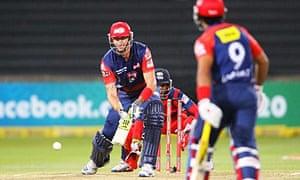 England's Kevin Pietersen plays for the Delhi Daredevils