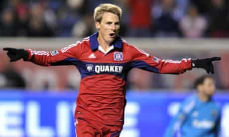 Chicago Fire's Chris Rolfe
