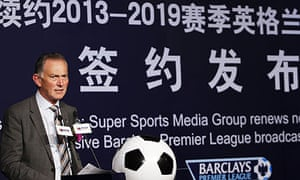 Richard Scudamore, the Premier League chief executive, is overseeing a series of global TV deals