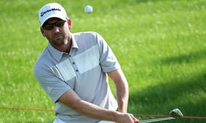 Sergio García hit a remarkable 64 in the second-round of the Dubai World Tour Championship
