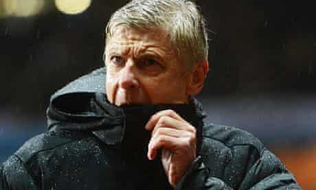 The Arsenal manager, Arsene Wenger