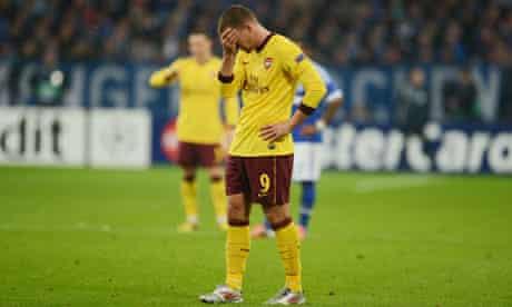 Lukas Podolski of Arsenal