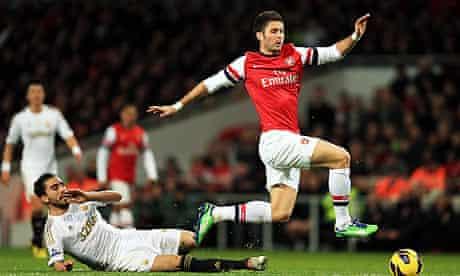 Olivier Giroud of Arsenal