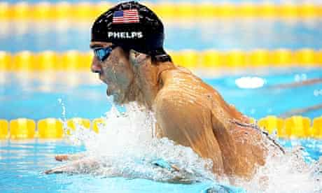 Michael Phelps at the London Olympics