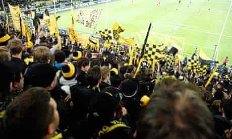 The Yellow Wall Borussia Dortmund