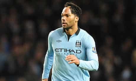 Joleon Lescott in action