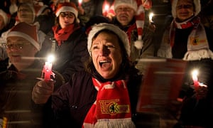 Traditional Carol Singing of Second Division Club in Berlin