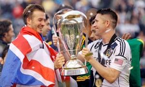 Beckham and Keane, LA Galaxy