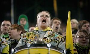 Dortmund supporter