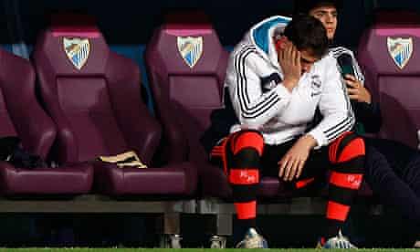 Real Madrid's goalkeeper Casillas