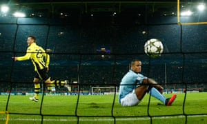 Borussia Dortmund's Schieber celebrates