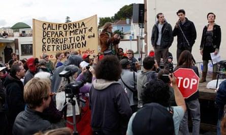 Occupy protest, California