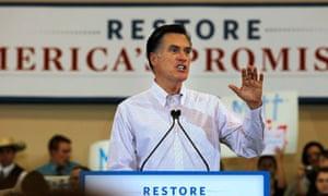 Mitt Romney in Chandler, Arizona