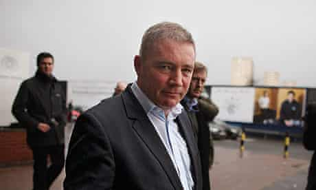 Ally McCoist, the Rangers manager