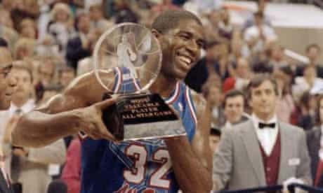Magic Johnson All-Star game 1992