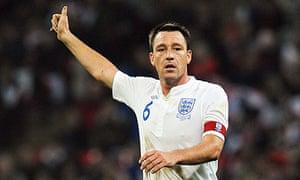 John Terry, England captain