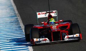 Ferrari Nose Best F1 Teams Opt For A Radical Aerodynamic Design Richard Williams Sport The Guardian