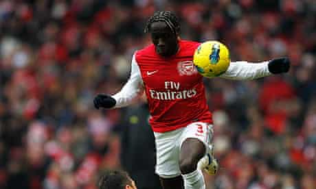 Bacary Sagna return to fitness has eased Arsenal's lack of defensive options